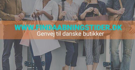 aabningstider findaabningstider.dk